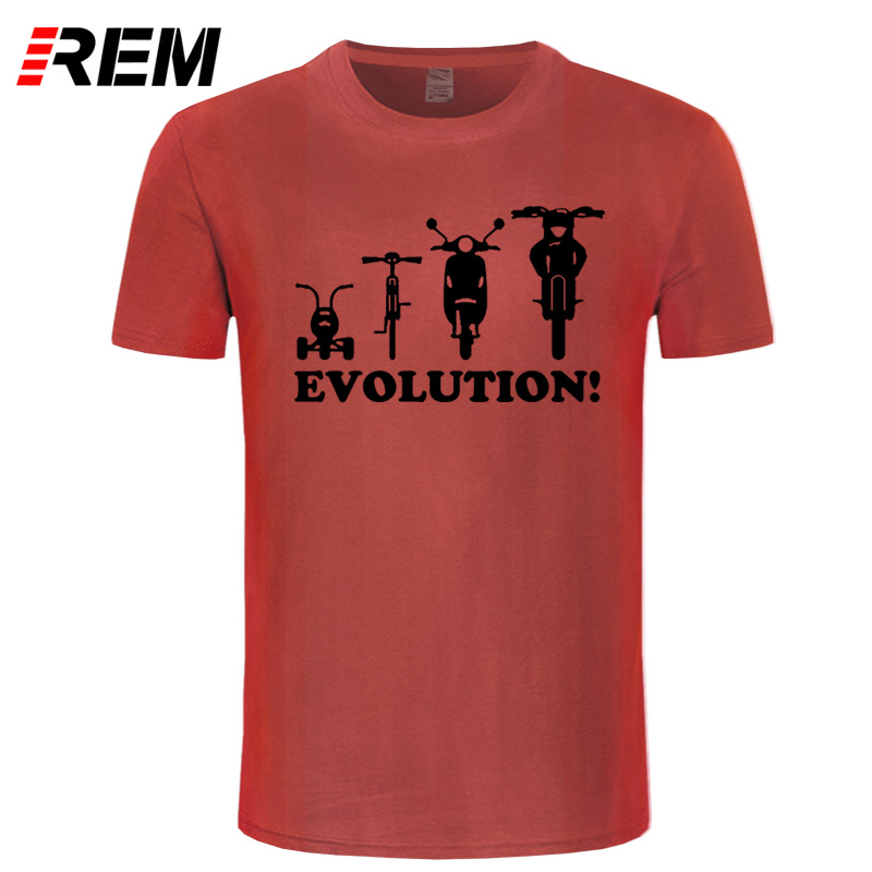 REM Novelty Youth T shirt Evolution of a Tricycle Bicycle Moped Motorbike