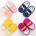 0-1 Anos de Idade Do Bebê Do Sexo Feminino Sapatos Pés Quentes Além de Veludo sapatos de Bebê Sapatos de Bebê Macio Não-slip sapatos Crianças WMC904