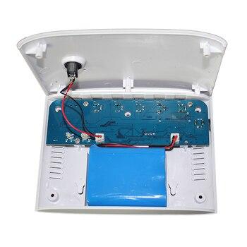 9V Lithium Batterie | SK313T Mini Tragbare UPS Mit 5 V/9 V/12 V/15 V/24VDC Interface & Usb-anschluss Max 24 Watt 1A Stromausgang & 7800 MAh Lithium-Batterie Gebaut