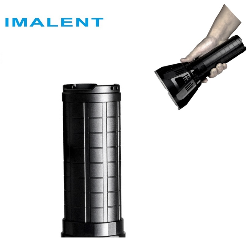 IMALENT MS12 battery pack (4 * SANYO NCR20700B 14.4 V / 8500 mAh) Li-Ion LED flashlight with more charge protection