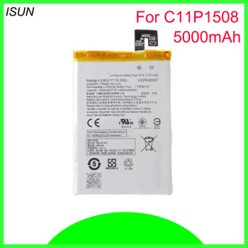 ISUNOO 5000mAh Mobile phone battery for ASUS Zenfone Max ZC550KL/ Z010D /Z010DD /C11P1508 batteries Replacement image