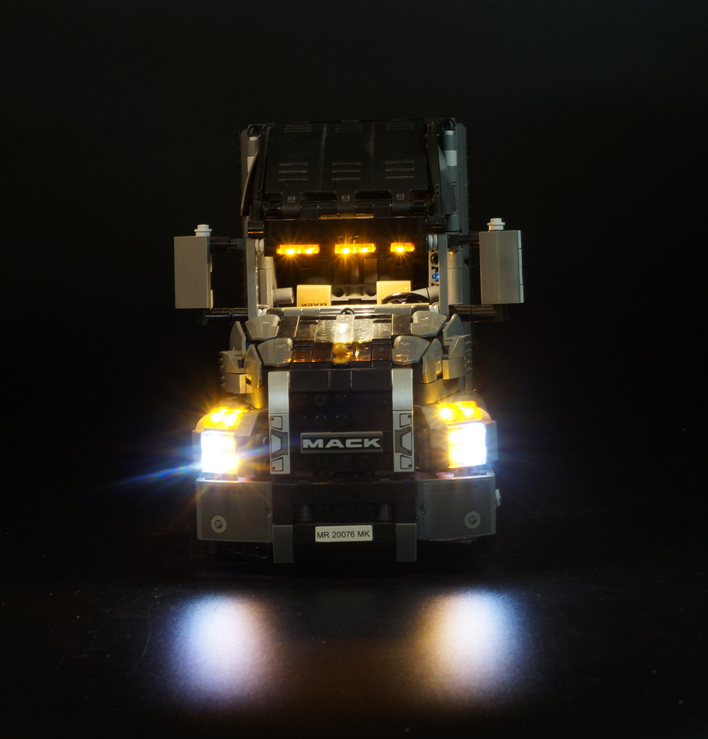 LED Light Kit for lego Technic Series 42078 and 20076 the Mack AnthBig Truck Set the