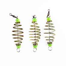 POETRYYI 1Pcs Spring Hook Blast fishing Stainless Tackle Barbed Fishing Bait Accessories of Pack 30