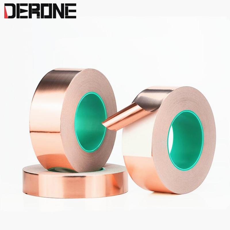 Shielded Copper Foil  For Potentiometer Transformer Signal Line 1 Meter Width 40mm