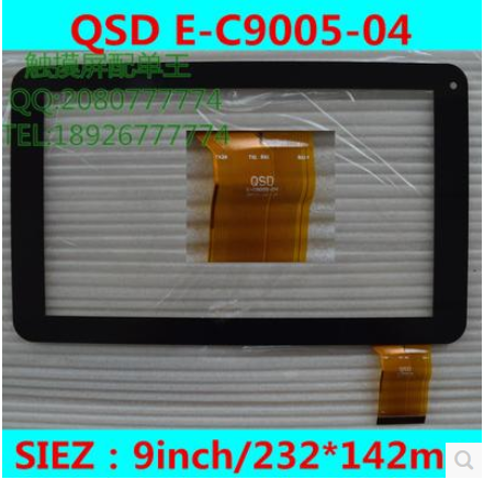 New original 9 inch KNC MD903 MD903S tablet capacitive touch screen qsd E-C9005-04 black/white free shipping
