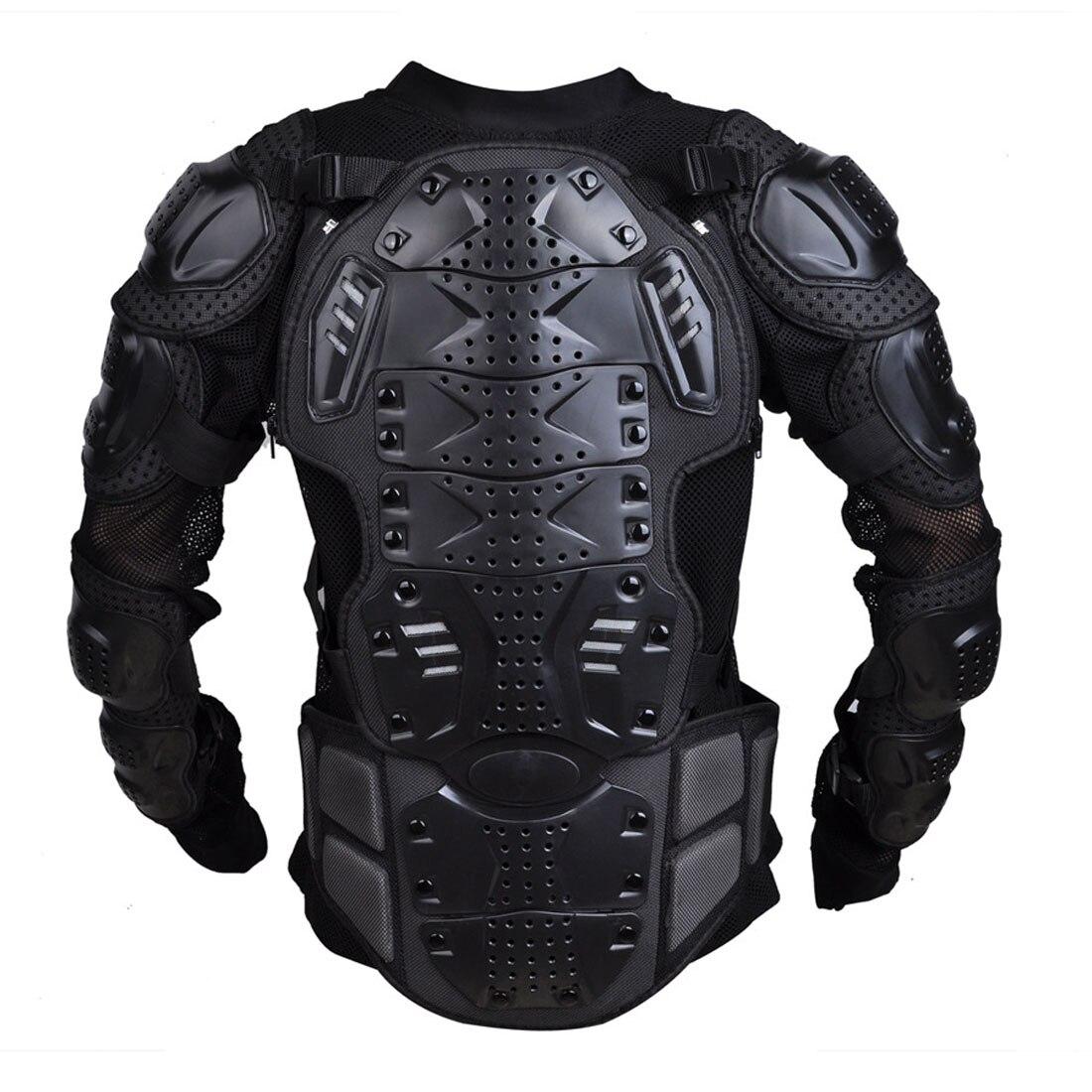 Dongzhen moto veste moto armure Protection Motocross vêtements veste croix dos/rouge armure protecteur course Automobile - 4