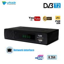 Vmade Новые DVB T2 8939 ресивер HD цифрового наземного ТВ тюнер поддерживает YouTube MPEG-2/MPEG-4 MP3 H.264 1080 P Декодер каналов кабельного телевидения