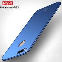 MSVII Case For Xiaomi Mi A1 Case Cover For Xiaomi Mi 5X Case Frsoted PC Full Protection Back Phone Case For Xiaomi Mi5X Mi5 MiA1