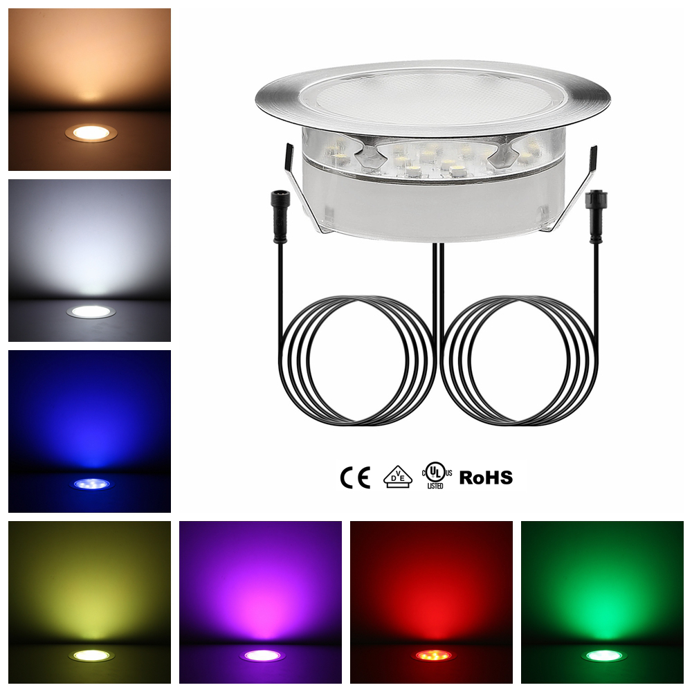 Ip67 dc12v underground led lights for christams new year recessed led spots inground outdoor fixtures for lighting