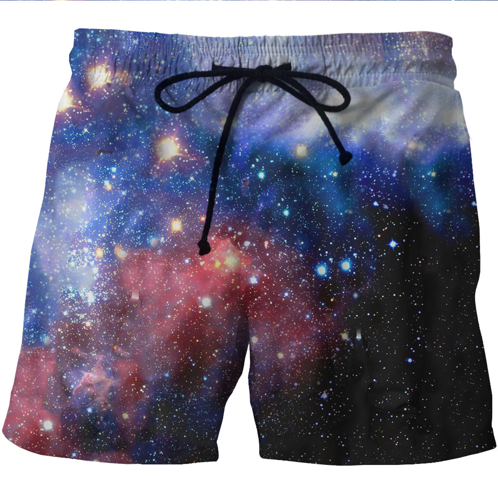 FL amp AEVVE Summer Men Shorts 3D Print Classical Dream Galaxy Beach Fitness Trousers Fashion Men 39 s Bermuda Boardshort Plus Size 6XL in Casual Shorts from Men 39 s Clothing