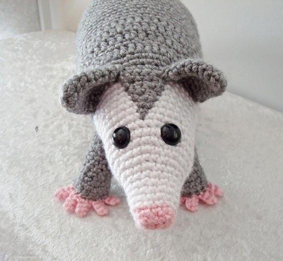 Crochet Toys  Amigurumi Possum