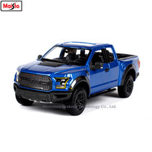 Maisto 1:24 2017 Ford F150 pickup simulation alloy car model crafts decoration collection toy tools gift цена