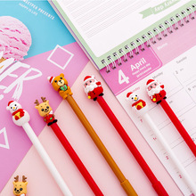 40 PCs office stationery creative cartoon Christmas series neutral pen Christmas gifts
