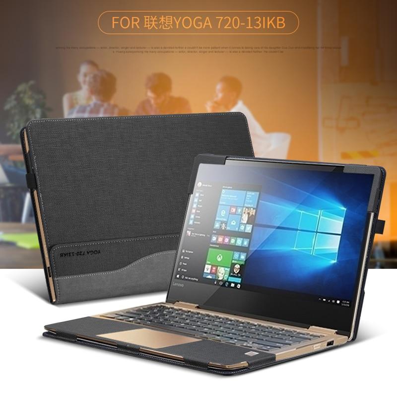 Laptop Case For 2017 Lenovo YOGA 720 13IKB 13.3 Creative Design Sleeve Case PU Leather Protective Skin For YOGA 720 Gift
