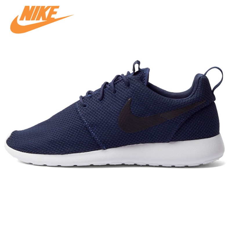 Original New Arrival Authentic Nike Men's ROSHE RUN Mesh Breathable Running Shoes Sneakers Trainers nike roshe run men air mesh breathable running shoes original new men outdppr sport sneakers trainers shoes