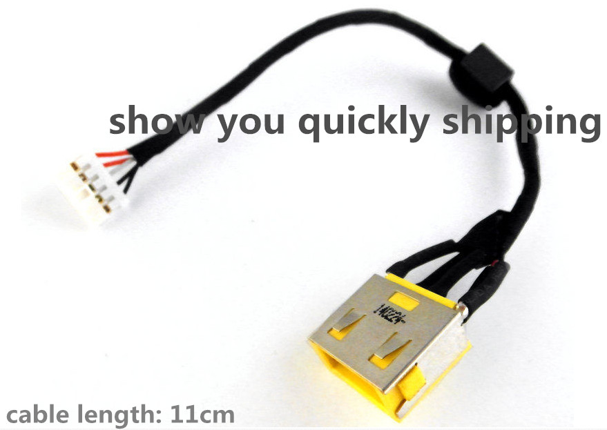 FOR LENOVO G400S G500S G505S G510S LAPTOP AC DC POWER JACK CABLE HARNESS