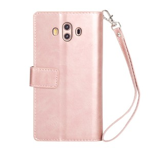Image 3 - L FADNUT For Huawei P20 P30 P8 Lite 2017 Mate 9 10 20 Pro Case Cover Card Wallet Purse Flip Stand Holder Phone PU Leather Cases