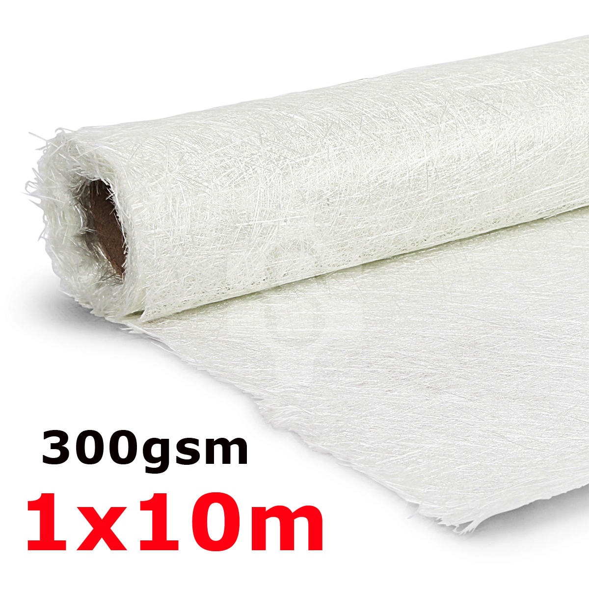 1 m * 10 m 300gsm Mat En Fiber De Verre Fiber De Verre Coupe De Fibers Tissu Alcalin-livraison En Fiber De Verre Hachées Brin tapis pour GRP Résine