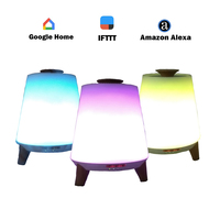 IFTTT APP Control Smart Essential Oil Aroma Diffuser Cool Mist Humidifier RGB LED Desk Lamp Voice control via Alexa Google Home