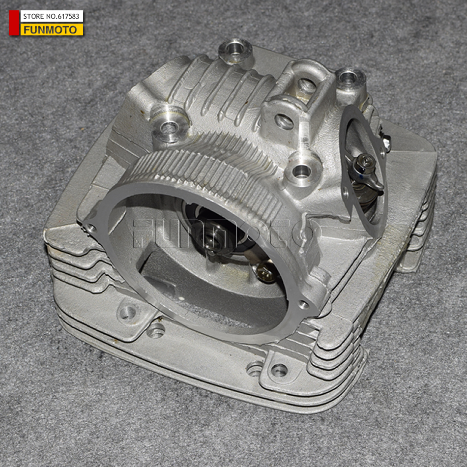 CYLINDER HEAD ASSY SUIT FOR JIANSHE 250 LONCIN 250 ENGINE PARTS JS-FG MODEL JS171FMM MODEL IS JS250-3-5/LONCIN 250-F поршень loncin gn300