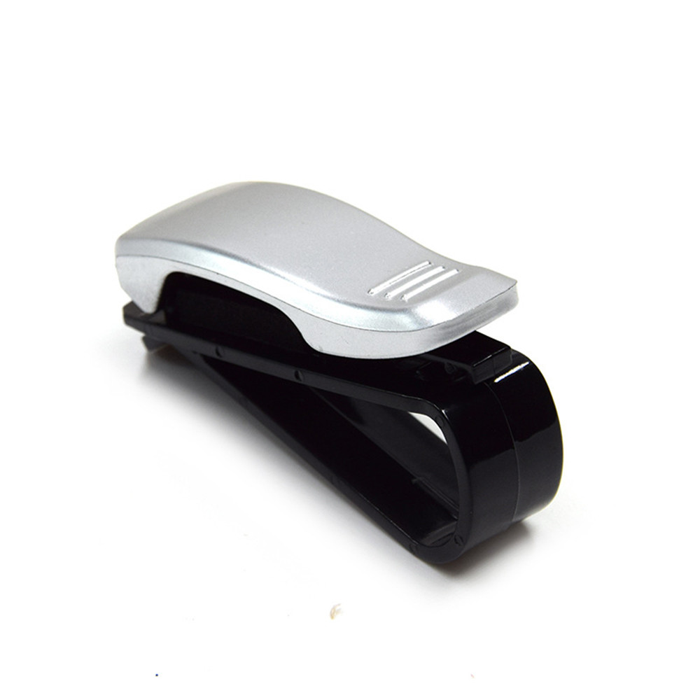 Sunglasses Storage-Holder Soft-Pad Car-Sun-Visor Jaws Securely Receipt-Card-Clip Ticket