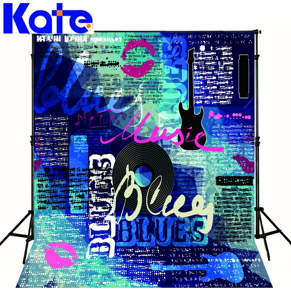 Kate 10x10ft art children photography backdrops blue graffiti wall custom backdrops washable hip hop photographic background in background from consumer