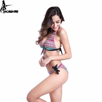 Swimwear Women 2016 Print Floral Swimsuit Push Up Bikini Set  Bathing Suits Brazilian Bikinis Women Swimwear Beach Wear Biquini 4