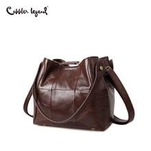 Cobbler Legend Bucket Bag Purses and Handbags Genuine Leather Women Designer Female Shoulder Crossbody Bag Real Leather Luxury
