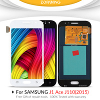 Grade AAA LCD Screen For Samsung Galaxy J1 Ace J110 LCD Display + Touch Screen Digitizer Assembly Replacement J110F J110M J110L