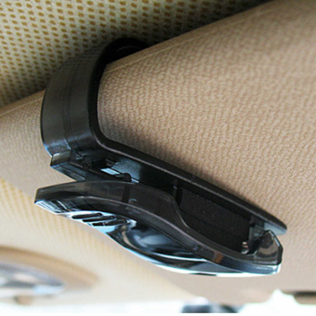 2018 Hot Sale Mobil Sun Visor Kacamata Pemegang Tiket Klip untuk Renault Duster Laguna Megane 2 3 Logan Captur Clio untuk Saab 9-3 9-3 9-5 9