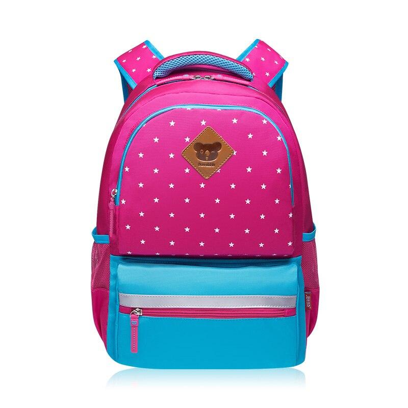New Arrival hot pink blue kawaii bag school backpack for kids cute girl bag children backpacks korean style girls school bags