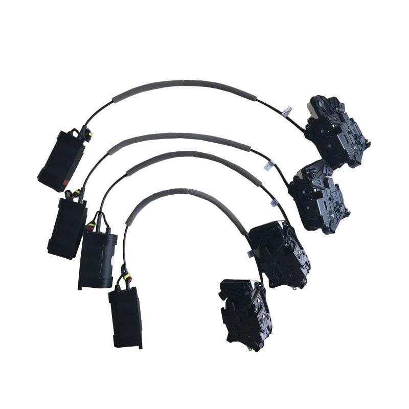 For Skoda Superb/Fabia/KODIAQ Electric Suction Door Automobile Refitted Automatic Locks Car Accessories Suction Door