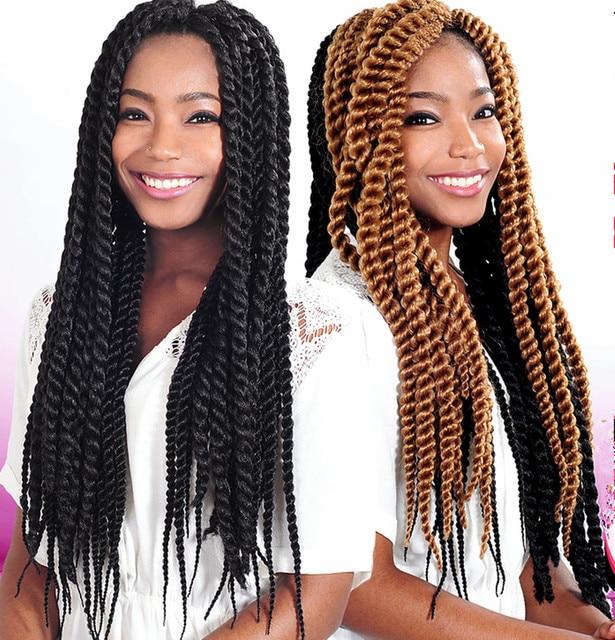 Crochet Kanekalon Hair Curly : havana mambo twist crochet braids afro kinky curly Jenet queen hair ...