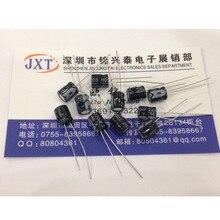 Pengiriman gratis! 100 pcs/lot 220uF 16V Electrolytic kapasitor 220uF 16v 6x7mm aluminium kapasitor elektrolit ic …