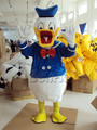 M44 Gratis verzending custom kostuums bal Donald Duck en Daisy Mascotte Kostuums Cartoon poppen Imitatie kleding cosplay