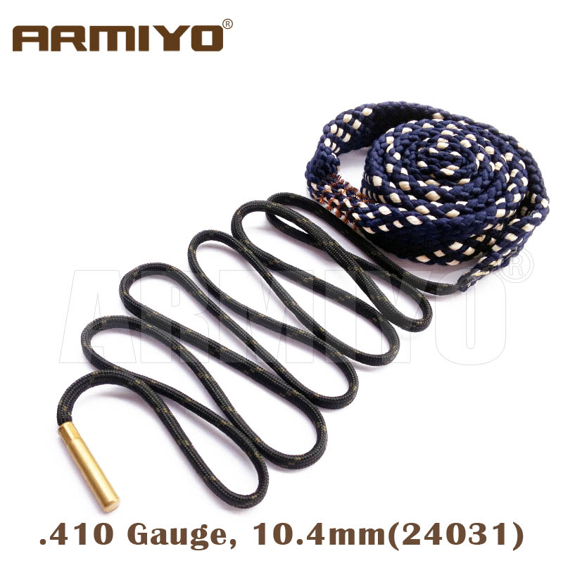 Armiyo Bore Snake .410GA .410 Gauge 10.4mm Shot Gun Bore Cleaning Sling Shooting Barrel Cleaner 24031 Hunting