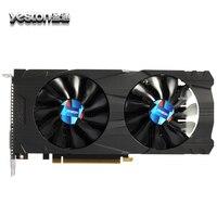 Yeston GTX 1050Ti Graphics Card 4G DDR5 128bit 6pin Desktop Computer PC Video Graphics Cards Double