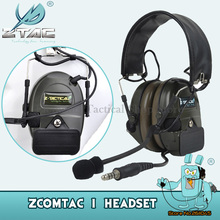 Z Tactical Headset Z 054 Combat Comtac I Tactical Noise Reduction Headset Free Shipping Z054 FG цена 2017