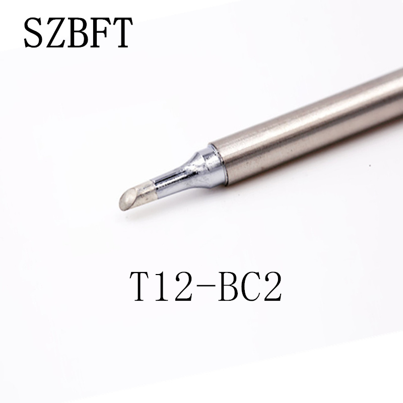 SZBFT T12-BC2 BC1 BC3 JL02 ILS K D24 Iron Tips For Hakko Soldering Rework Station FX-951 FX-952 Free Shipping