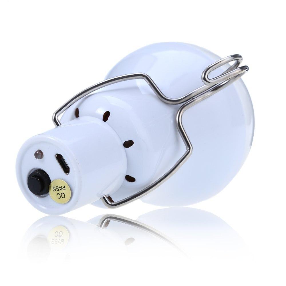 Hot 15w Solar Powered Portable Led Bulb Lamp Solenergi Camping lampa - Utomhusbelysning - Foto 3