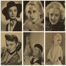 Betty Davis Retro Nostalgic Poster Bar Home Decoration Paintings