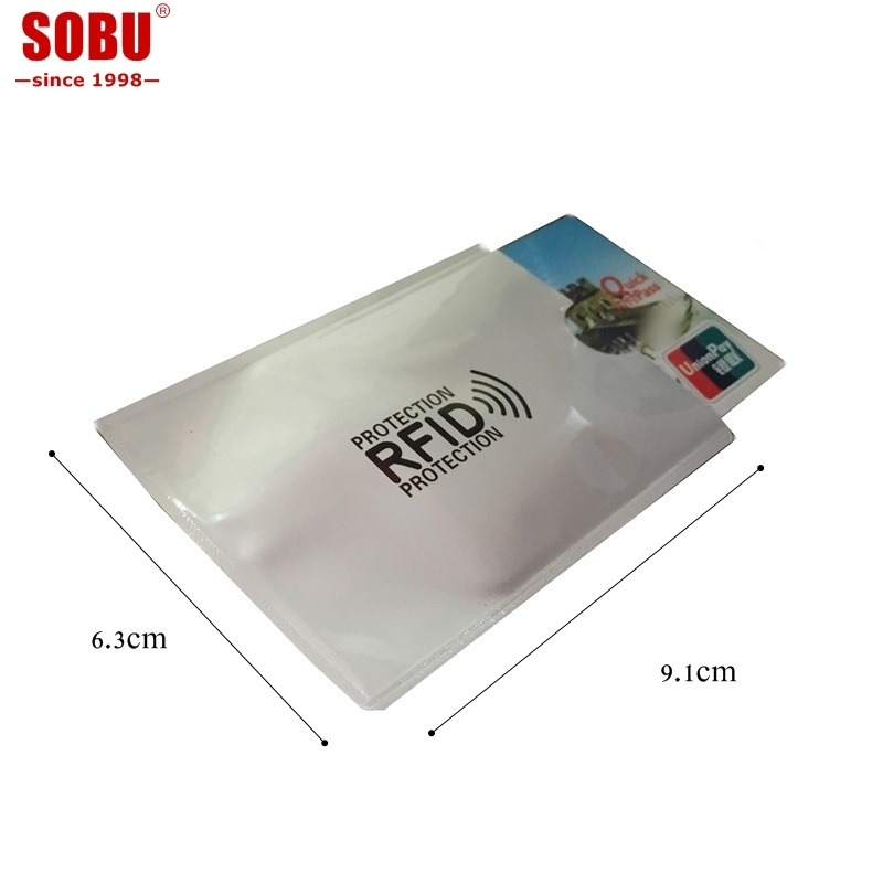 1pcs Anti Rfid Blocking Credit Card Holder Porte Carte Covers for Credit Cards ID Bank Card Case Card holder Identity Badge H039 6pcs lot acrylic cartoon nurse retractable badge reel id name tag card badge holder reels 2018 new doctor nurse supplies