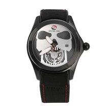 цены original Fashion Skull Watch Men Quartz Watch Waterproof Big Dial Sport Watch Men Watch Top Luxury Brand Clock Relogio Masculino