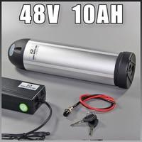 Ebike water bottle battery 48v 10ah lithium ion 350W 500W battery