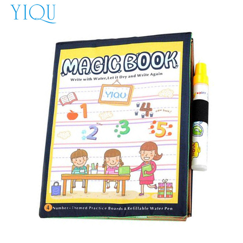 Online Buy Wholesale magic water coloring book from China magic ...