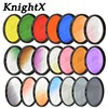 Цветной фильтр KnightX 24 для nikon canon 18 55 d80 анаморфный объектив eos 600d фотообъективы для 52 мм 58 мм 67 мм uv CPL nd
