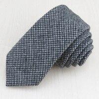 (1 pz/lotto) Piviere design pattern Affari cravatta bello moda casual ufficio generale 6.5 cm lana cravatta