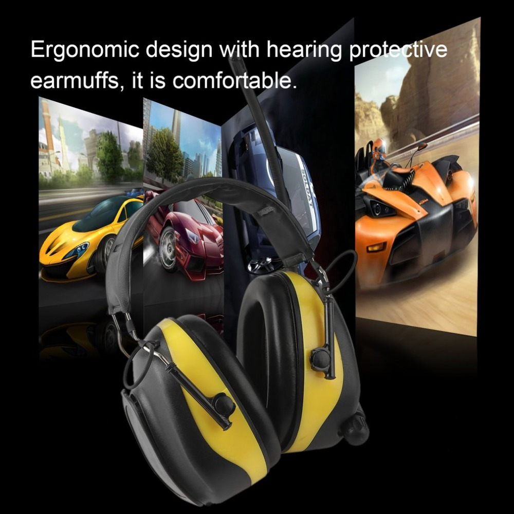 LESHP protection Earmuffs Ear Protector Anti-noise Hunting Shooting Tactical safety headphones Hearing Protecting Headset