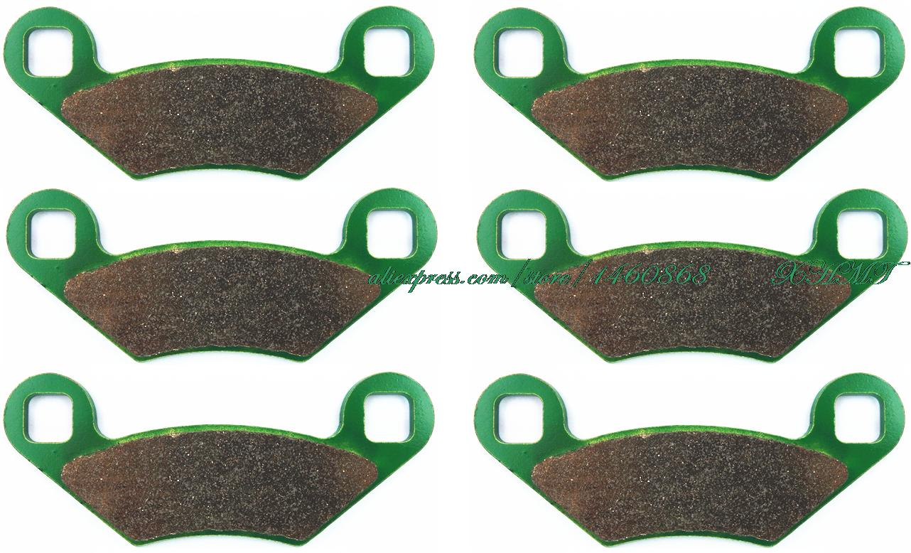 Details about  /EPI Standard Brake Pads Rear for POLARIS ATP 330 4x4 2004-2005