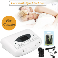 Ion Far Infrared Ionic Cleanse Detox Foot Bath Machine Detoxification Instrument Spa Body Feet Massager Music Physiotherapy